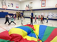 "Tari Phares on Twitter: ""#RCASfiredup Black Hawk K-2 kids enjoying the game ""Museum"" with the parachute. 3-5 kids are..."