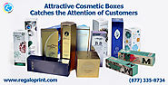 Attractive Beauty & Cosmetic Packaging Boxes
