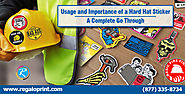 Usage and Importance of a Hard Hat Sticker