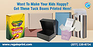 Want To Make Your Kids Happy? Get These Tuck Boxes Printed Here!