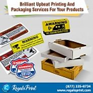 Brilliant Upbeat Printing and Packaging Services for Your Products - RegaloPrint - beatyourprice.com