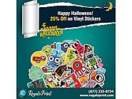 Happy Halloween! 25% off on Vinyl Stickers | RegaloPrint - Printing Services