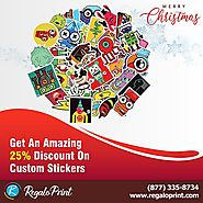 Get An Amazing 25% Discount On Custom Stickers | RegaloPrint - New York City