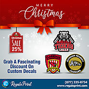 Grab A 25% Discount On Custom Decals | RegaloPrint
