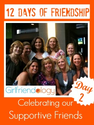 12 Days of Friendship | Holidays, Christmas | Cheerleaders, gift of friendship | The New Girlfriendology | Be a Bette...