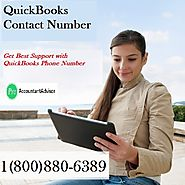 Get Best Support with QuickBooks Phone Number 1(800)880-6389