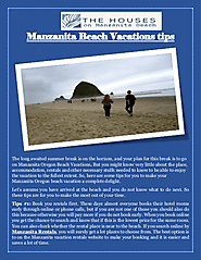Manzanita Beach Vacations tips