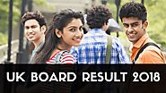 UK Board Result 2018, UK Board 10th & 12th Class Result 2018