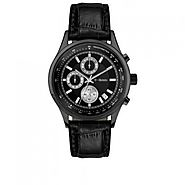 BUY REGAL BLACK CHRONOGRAPH MEN'S WATCH