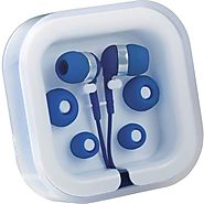 Earphone in Clear Case
