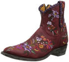 Old Gringo Women's Jasmine Lace Boot,Red/Violet