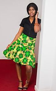 Buy African Print Midi Skirts Online