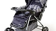 LuvLap Baby Stroller Pram Comfy Deep Grey at best price – Amazon