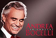 Andrea Bocelli -- Wednesday, June 20, at 8 PM