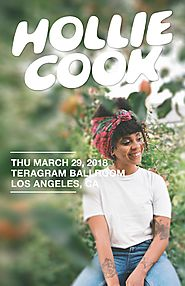 March 29 -- Hollie Cook at Teragram Ballroom