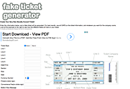 FAKE CONCERT TICKET GENERATOR (fake ticket generator)