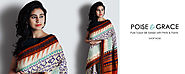 Party Wear Designer Tussar Silk Sarees