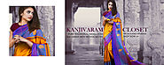 Beautiful Kanchipuram Silk Sarees for Online Shopping