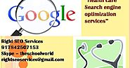 Health care search engine Optimization Company