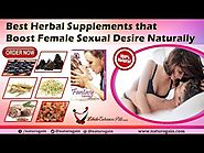 Best Herbal Supplements that Boost Female Sexual Desire Naturally