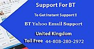 BT Yahoo Email Support Number UK Call 44-808-280-2972