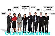C-Level Executives Mailing List: CEO, CFO, CTO Email Addresses