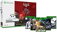 Buy Xbox One S 1TB Console - Halo Wars 2 Bundle + 2 Free Games - Zappy Deals