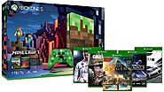 Xbox One S 1TB Console – Minecraft Limited Edition Bundle + 2 Free Games - Zappy Deals