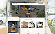 Moving Help - Logistic & Transportation WordPress Theme Business & Services Transportation Moving Company Template