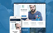 Taylor - Financial Accounting WordPress Theme Business & Services Accounting Website Template