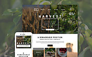 Harvest WordPress Theme Business & Services Agriculture Template