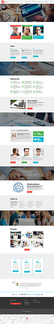 Consulting Co WordPress Theme Business & Services Consulting Template
