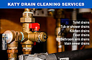 DRAIN LINE CLEANING FROM OUR PLUMBER IN KATY, TX