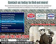 All for Plumbing Offers Commercial Plumbing Maintenance & Repair in Katy, Houston, Texas…