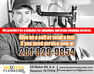 All for Plumbing Offers Residential Plumbing Maintenance & Repair in Katy, Houston, Texas…