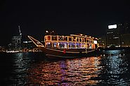 Dhow Cruise dinner in Dubai Creek Best Deals - Price as low as 55 AED