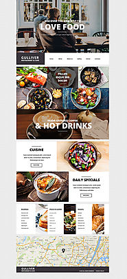 Cafe And Restaurant WP Theme Food & Restaurant Cafe and Restaurant Template