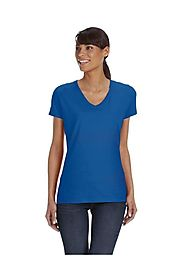 Wholesale T-Shirt | Blank Fruit of the Loom L39VR: Ladies 5 oz HD Cott