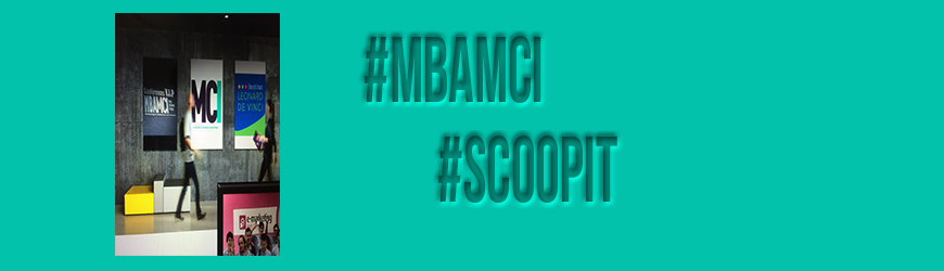 Headline for Scoopit Promotion MBAMCI FT 2014