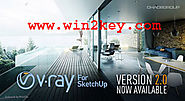 Vray 2.0 For SketchUp 2016 Crack Plus License key Download [LATEST]
