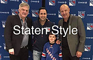 The Dominick duo regarded as the best dressed at the holiday soiree and The New York Rangers Event - dominickciccarello