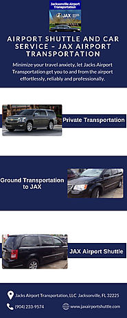 Airport Shuttle and Car Service – JAX Airport Transportation