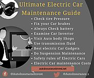 Ultimate Electric Car Maintenance Guide of 2018 | Auto Insurance Invest