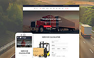 Cargo - Multipurpose Transportation Website Template Business & Services Transportation Moving Company Template