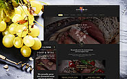Cafe And Restaurant Site Food & Restaurant Cafe and Restaurant Template