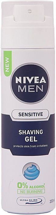 Nivea for Men Sensitive Shaving Gel