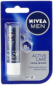 Nivea Men Active Care Lip Balm with Spf