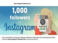 Find the Best Provider to Buy Instagram Followers UK