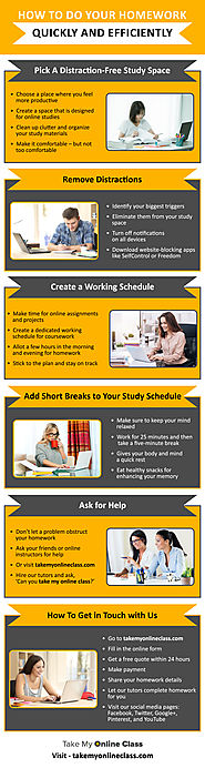 Infographic: Five Powerful Tips To Complete Your Homework