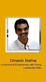 Dinesh Bafna from Cleveland is a Wonderful Mentor Who Leads His Team by Example - Dinesh Bafna Cuyahoga County | Clev...